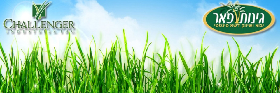 גינות פאר כי על דשא סינטטי איכותי לא מתפשרים.