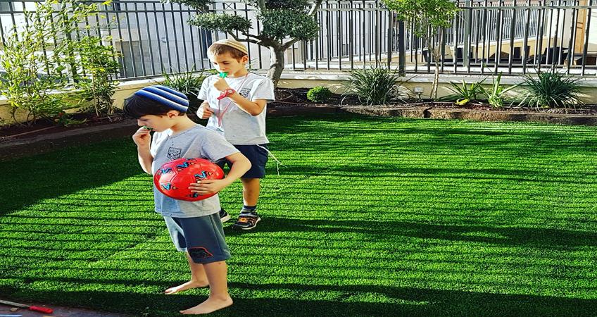 גינות פאר דשא סינטטי איכותי