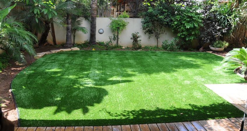 דשא סינטטי טוב זה גינות פאר