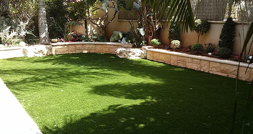 דשא סינטטי-וגינון גינות פאר