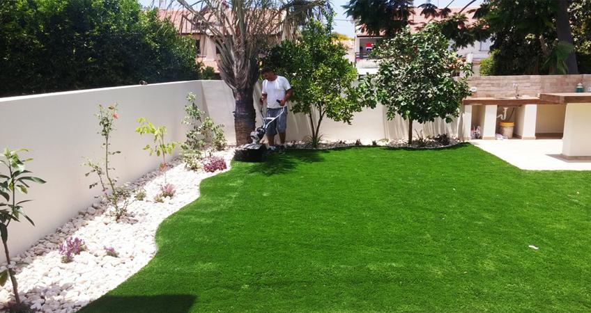 שלבי התקנה דשא סינטטי